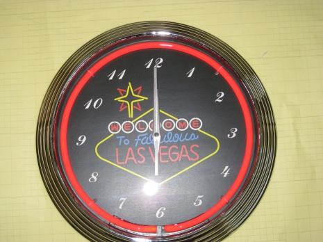 Las Vegas Klocka