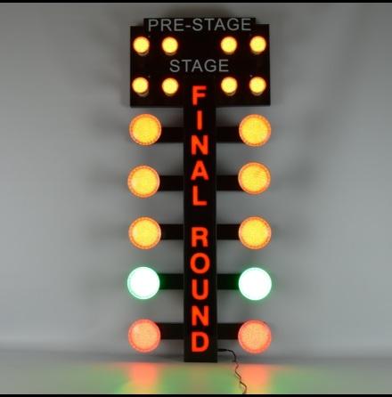 FINAL ROUND DRAG STRIP LIGHT