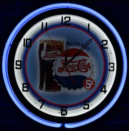 Big Glass Pepsi Cola
